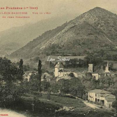 1 - 741 - Mauléon-Barousse - vers l'Est, au fond, Esbareich