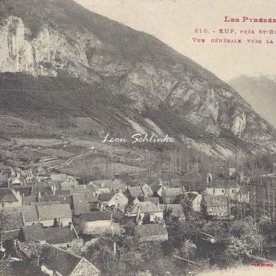 1 - 816 - Eup près St-Béat - Vue générale vers la Vallée d'Aran