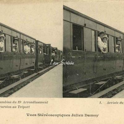 1 - Arrivée du Train