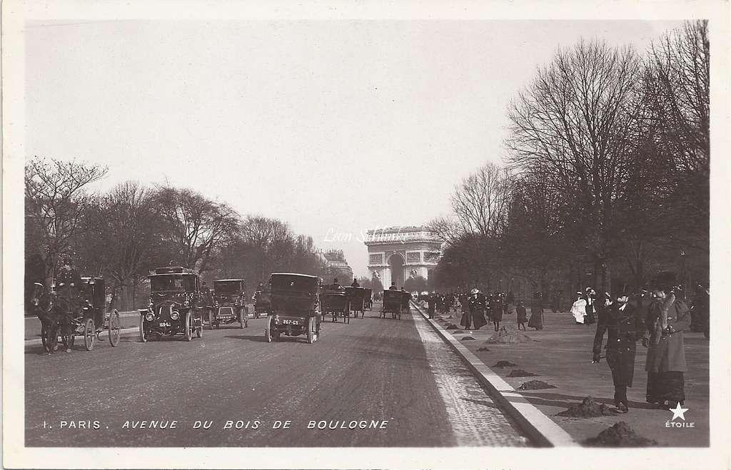 1 - Avenue du Bois de Boulogne