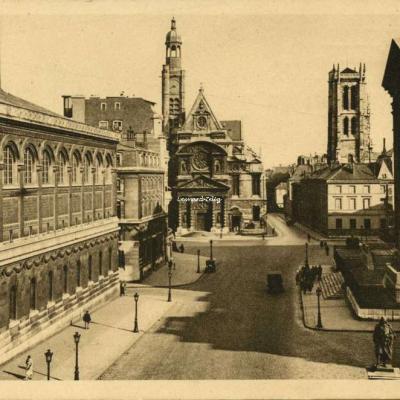 1 - Bibliothèque Saint-Geneviève et St-Etienne-du-Mont