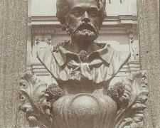 1 - Buste d'Emile Zola (Buste de Solari)
