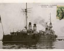1 - Croiseur - Cuirassé Amiral AUBE