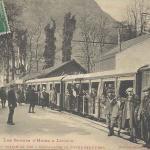 1 - Départ du chemin de fer à crémaillère de Superbagnères