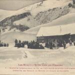 1 - L'arrivée des skieurs au refuge du Cirque de Gourette