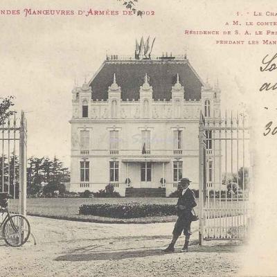 1 - Le Château de St-Rome à M. le Comte de Lapanouse