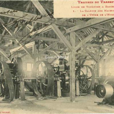 1 - Ligne de Barcelone à Toulouse - La Galerie des Machines Motrices