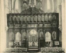 1 - PARIS - Eglise Saint-Julien-le-Pauvre - Le Choeur avec ....