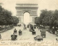 1 - PARIS - L'Arc de Triomphe et les Champs-Elysées (2)