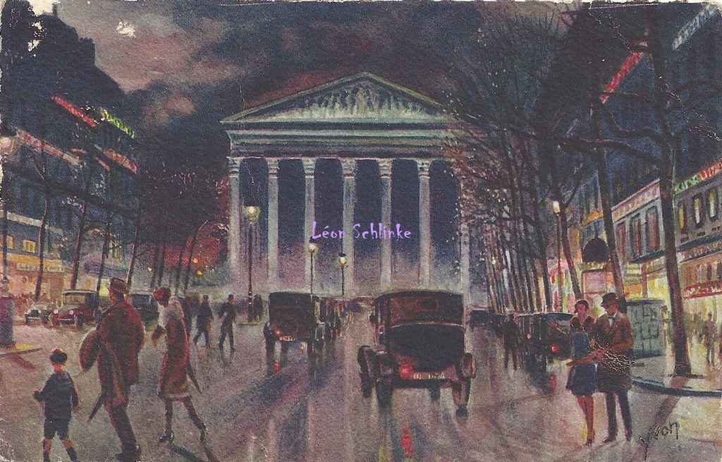 1 - Rue Royale et Eglise de la Madeleine
