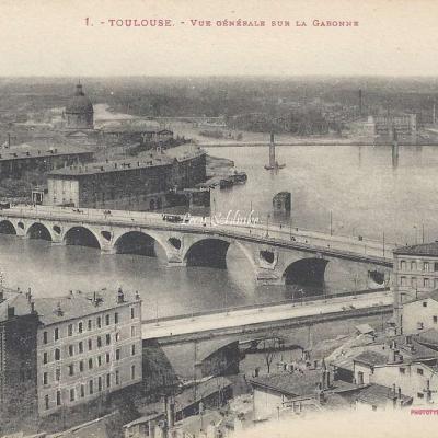 1 - Vue générale sur la Garonne