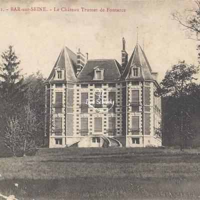 10-Bar-sur-Seine - Château Trumet-de-Fontarce (Bourgogne-Thévenin 61)