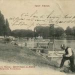 10 - Bords de la Marne Joinville, la Baignade Terminus