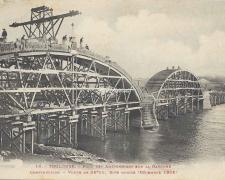 10 - Construction d'une voute sur la rive droite (Décembre 1905)