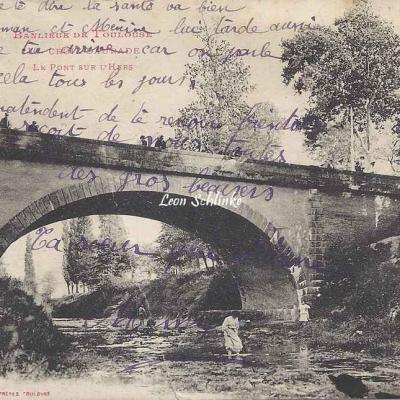 10 - Croix-Daurade - Le pont sur l'Hers