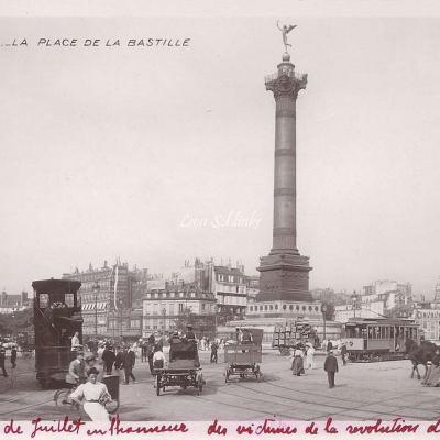 10 - La Place de la Bastille