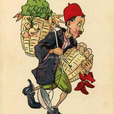 10 - Marchand de légumes ambulant