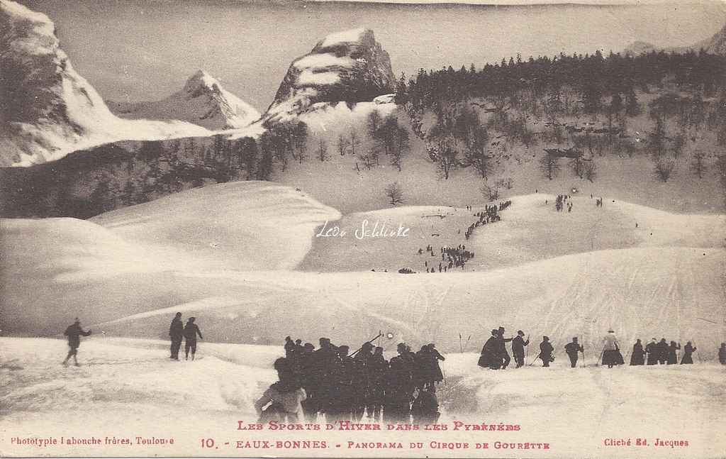 10 - Panorama du Cirque de Gourette