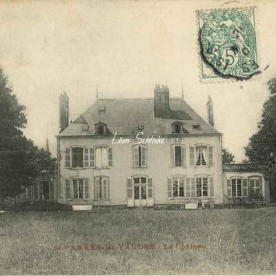 10-Saint-Parrès-lès-Vaudes - Le Château (illisible)