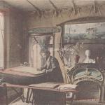 10 - Style Guimard - Cabinet de travail de H. Guimard