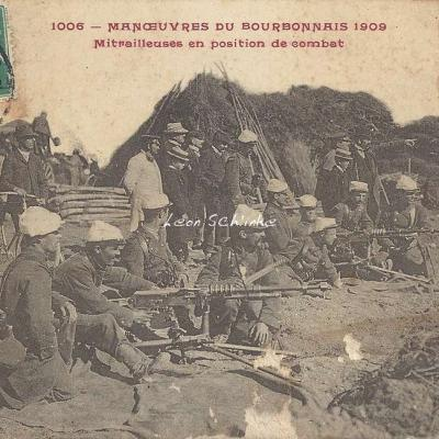 1006 - Mitrailleuses en position de combat