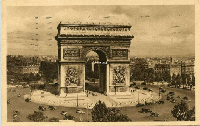 101 - Arc de Triomphe et place de l'Etoile