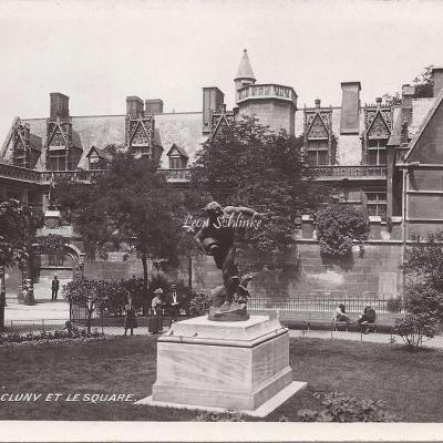 102 - Le Musée de Cluny et le Square