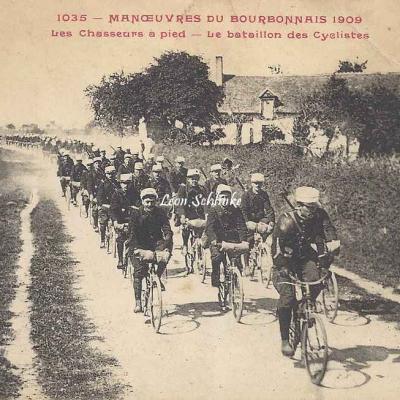 1035 - Les Chasseurs à pied - Le Bataillon des Cyclistes