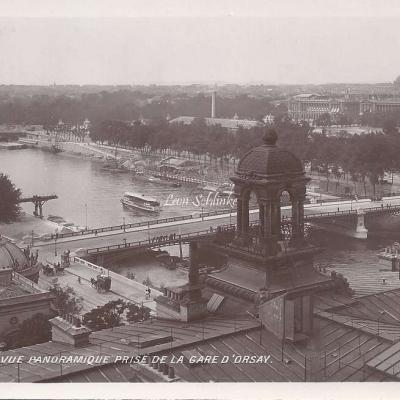 105 - Vue panoramique prise de la Gare d'Orsay
