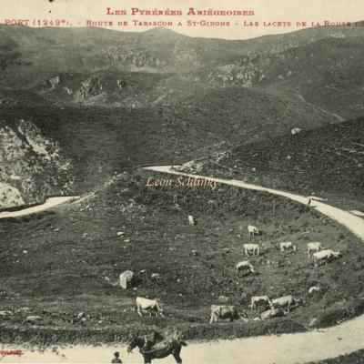 1078 - Col de Port - Route de Tarascon à St-Girons