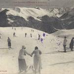 11 bis - Skieurs sur le Plateau