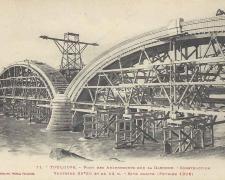 11 - Construction de 2 voutes - Rive droite (Février 1906)