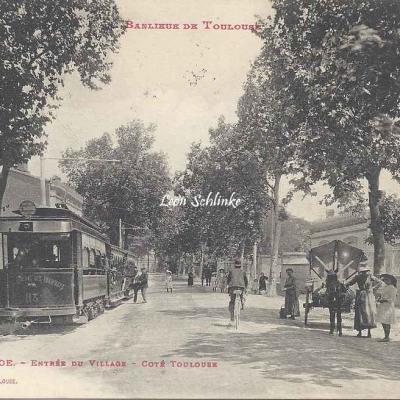 11 - Croix-Daurade - Entrée du Village côté Toulouse