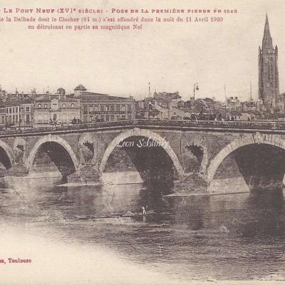 11 - Le Pont-Neuf - Pose de la 1ère pierre en 1548