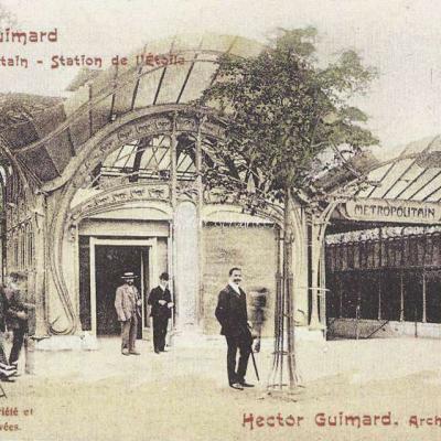 11 - Style Guimard - Station de l'Etoile