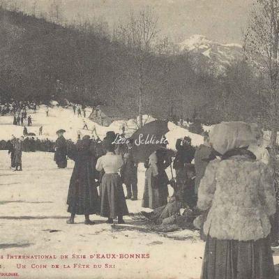 11 - Un coin de la Fête du Ski
