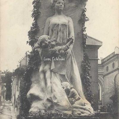 110 - Allégorie le ''Noël'' d'Auguste Holmès par E. Boverie