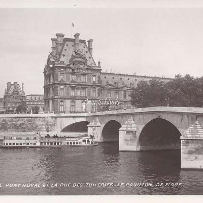115 - Le Pont Royal, Pavillon de Flore