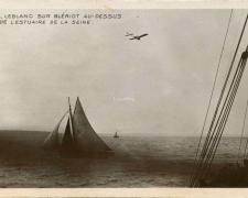 116 - Leblanc sur Blériot au-dessus de l'estuazire de la Seine