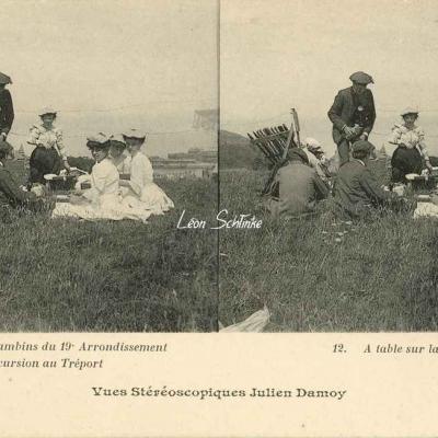 12 - A table sur la Falaise