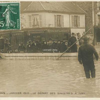 12 - Le départ des sinistrés à Ivry