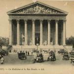 12 - PARIS - La Madeleine et la Rue Royale