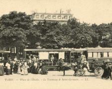 12 - PARIS - Place de l'Etoile - Le Tramway de Saint-Germain