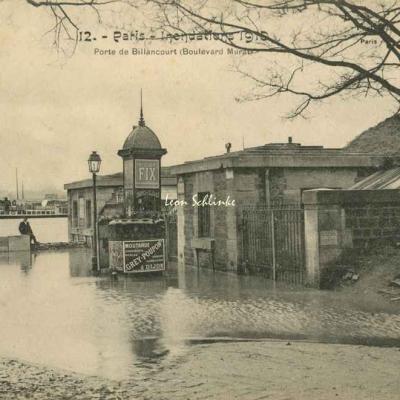 FF - Inondations de 1910