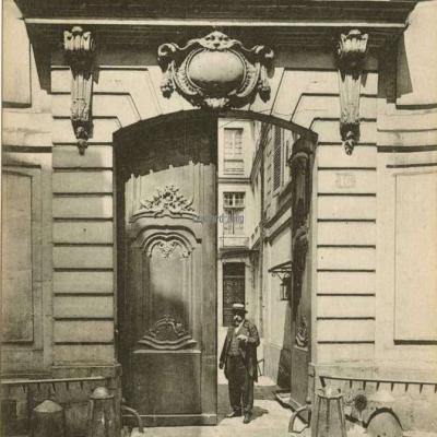 12 - Rue Séguier, 16