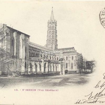 12 - St-Sernin (vue générale)