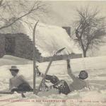 12 - Une chute dans la neige