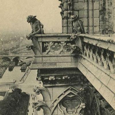 1212 - Notre-Dame, Chimères et Gargouilles
