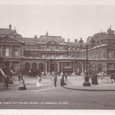 124 - La Place du Palais Royal - Le Conseil d'Etat