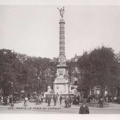 126 - La Place du Châtelet